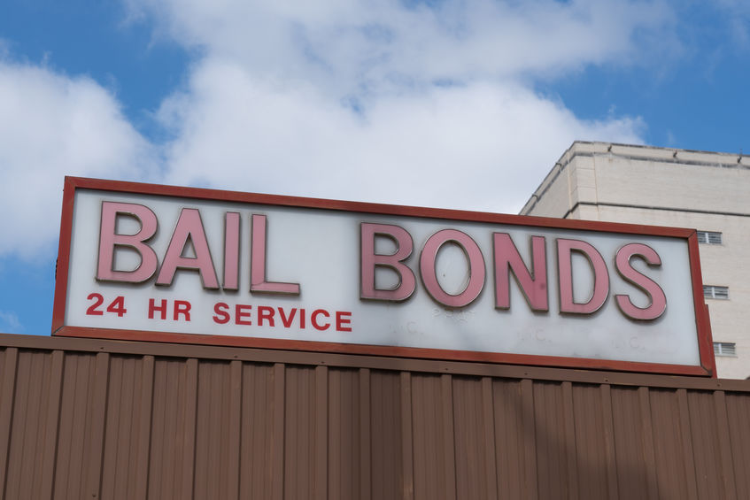 Bail Bonds Business Sign